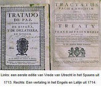 Het verdrag van Utrecht