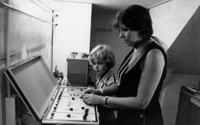 Tera de Marez Oyens in haar studio